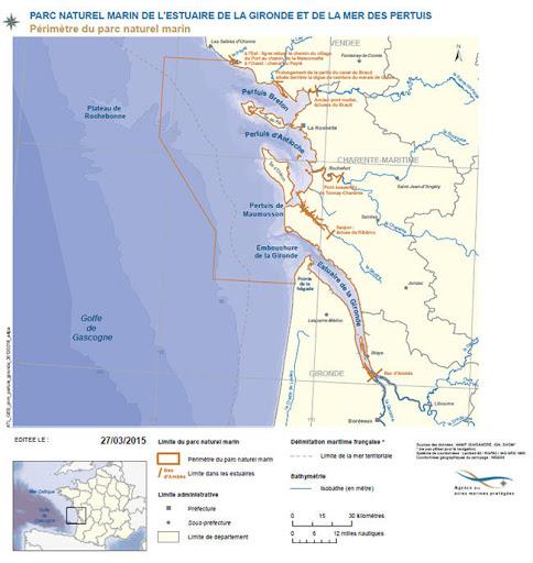 Le Parc naturel marin des Pertuis charentais et de l'estuaire de Gironde